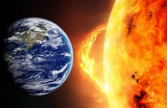 Solar storm: Earth battered by 220,000mph winds from Sun as forecasters warn 'stay alert'