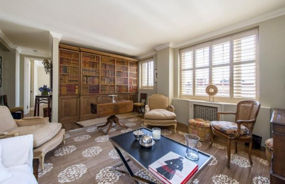 Spacious London apartment has a very secret twist – but can YOU spot the kitchen behind the wall?
