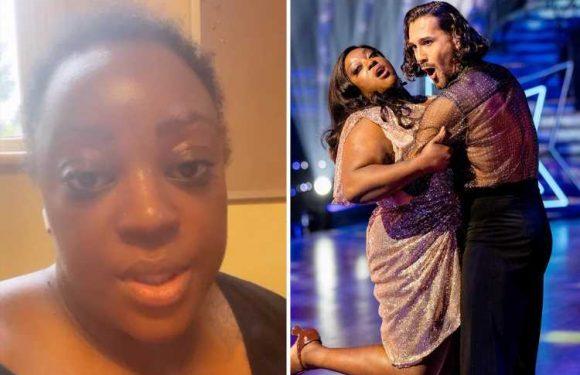 Strictly's Judi Love breaks down in tears in rehearsals with Graziano Di Prima