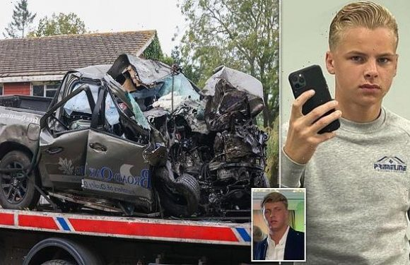 Teenager fighting for his life after crash on way to see Fury fight