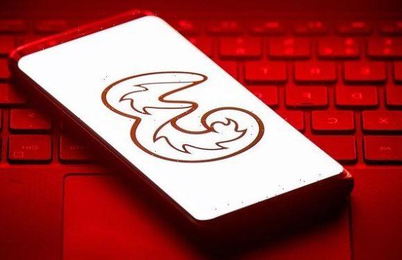 Three network crashes across the UK