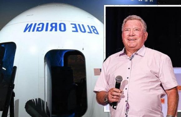 WATCH LIVE as William Shatner blasts into space on board Blue Origin rocket