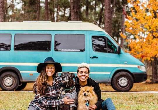 We quit our jobs to live in a van – we've cut our expenses in HALF and didn't have to work for an entire year